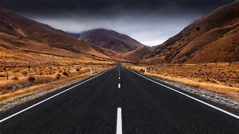 hd wallpaper highway mountain egypt