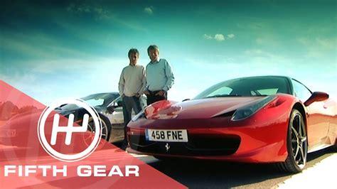 Mclaren Mp4 12c Vs 458 by Fifth Gear Mclaren Mp4 12c Vs 458 Italia