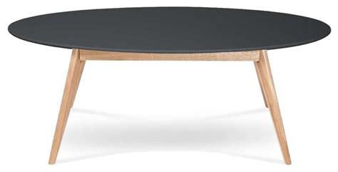 cuisine couleur ivoire table basse design scandinave ovale skoll couleur gris