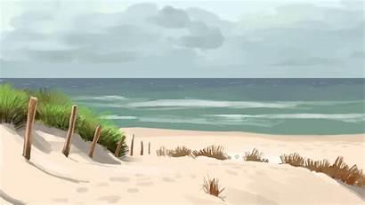 Animated Summer Background Beach Animation Deviantart Favourites