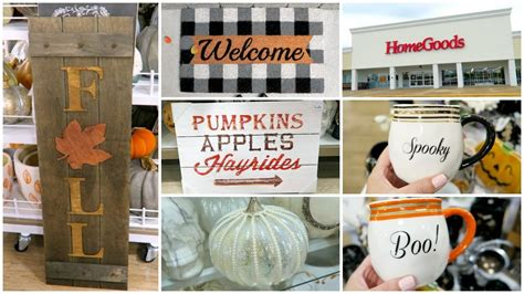 Homegoods Decor: Fall Decor Shopping At Homegoods & Tj Maxx