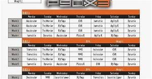 workout: P90x3 lean schedule