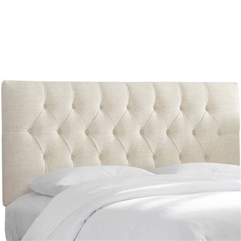 Skyline White Tufted Headboard by Skyline Furniture Tufted Panal Headboard In White 54xtlnntlc
