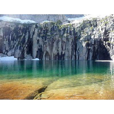Precipice Lake CAI Wanna GoPinterest