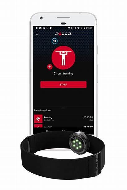 Polar App Beat Heart Rate Training Device