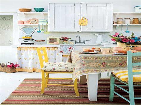 colorful kitchen ideas colorful vintage kitchen designs