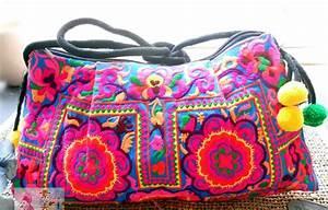 Pochette Tissu Femme : sac ethnique sac pochette patchwork sac chic vintage sac main femme ~ Teatrodelosmanantiales.com Idées de Décoration