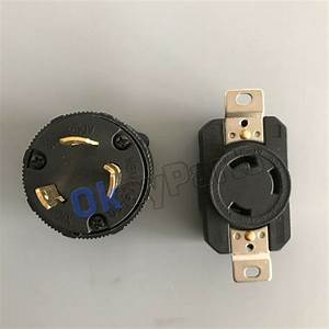 30 Amp 250 Volt Male Female Twist Lock 3 Wire Plug Nema L6