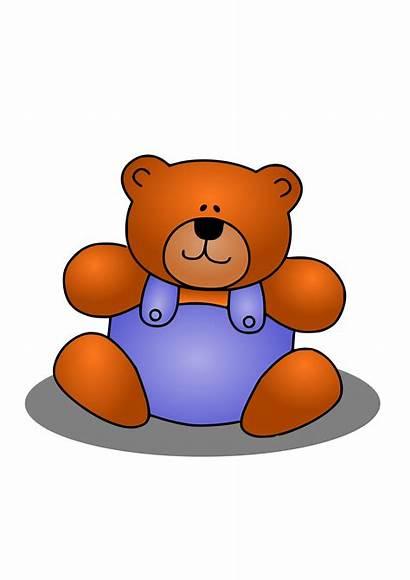 Bear Animal Clip Clipart Teddy Stuffed Animals