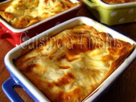 la cuisine à 4 mains recettes de lasagnes maison