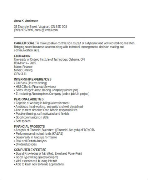 12 simple fresher resume templates free premium templates