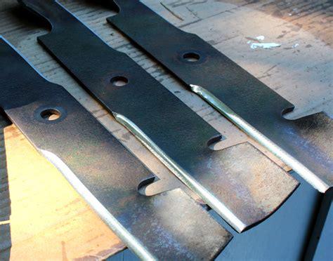 How To Sharpen & Balance Lawn Mower Blades  Jon Peters