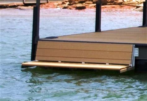 Boat Side Bench Seat by Swim Bench Dock Bench Lake Hartwell Lake Keowee Lake