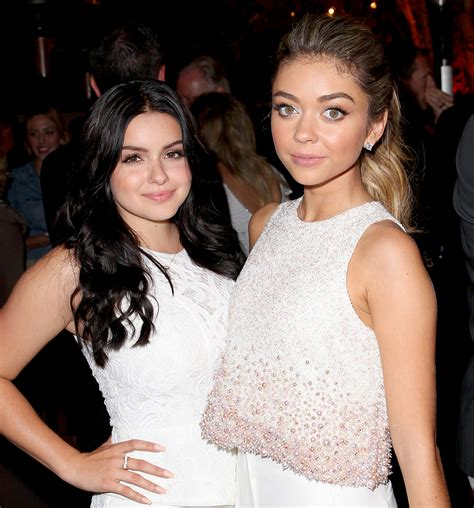 quitting   tiny   caused ariel winter