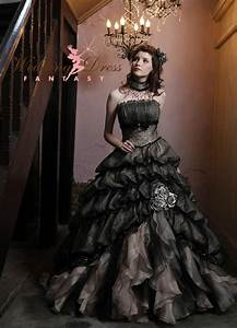 black wedding dress With dark wedding dresses