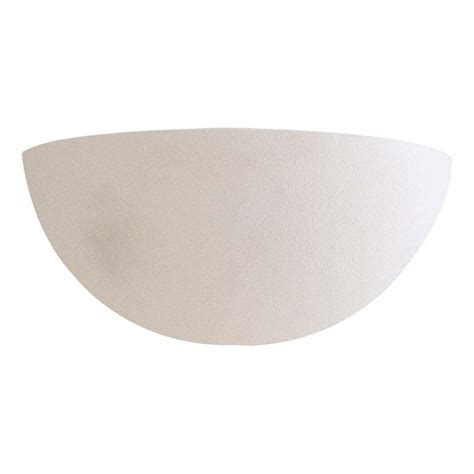 paintable ceramic wall halfsphere minka lavery half moon
