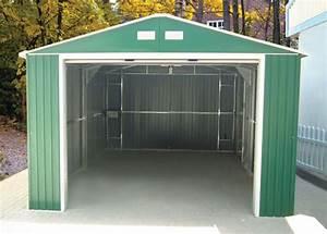 Cheap metal garages smalltowndjscom for Cheap garage building kits