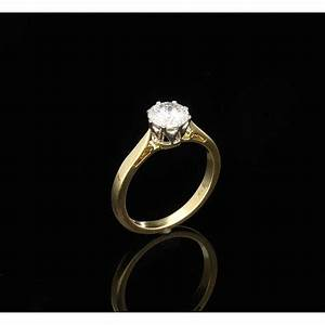 079ct diamond engagement ring 18ct yellow gold miltons With 2nd hand wedding rings
