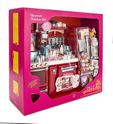 our generation kitchen set our generation gourmet kitchen best deals toys