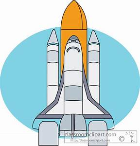 Space Clipart- space_clipart_shuttle_08 - Classroom Clipart