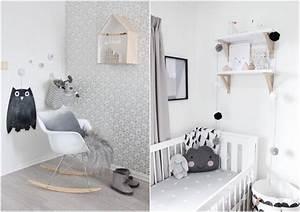 decoration chambre bebe garcon et fille jours de joie et With chambre bébé design avec fleurs funéraires en céramique