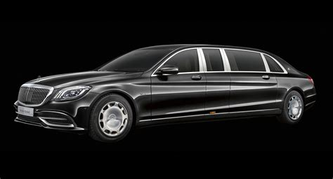 2019 Mercedesmaybach Pullman Arrives With Vision 6