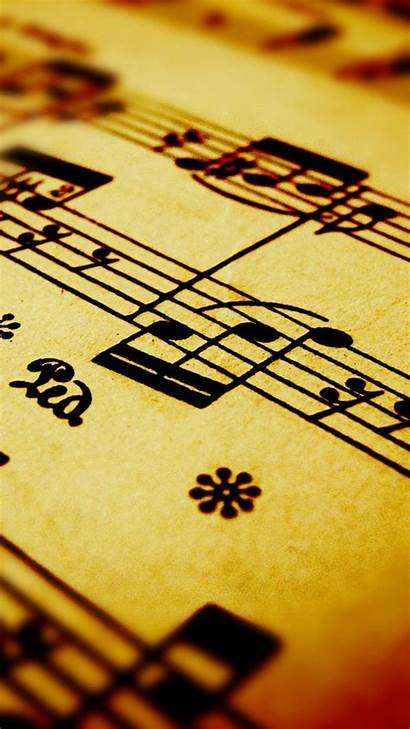 Notes Note Iphone Wallpapers Background Musician Sheet
