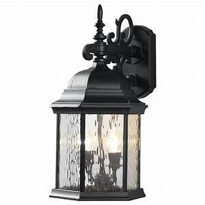 hampton bay 95 in 2 light oil rubbed bronze led With outdoor lighting colored lanterns