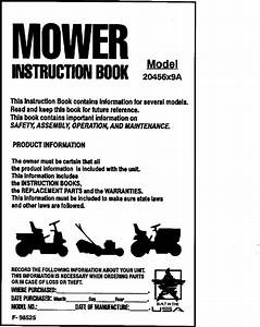 Murray 20456x9a User Manual Mower Manuals And Guides L0104229