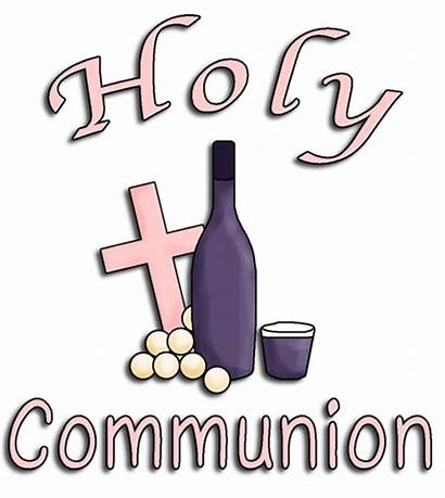 Communion Clip Holy Clipart Word Christening Christian
