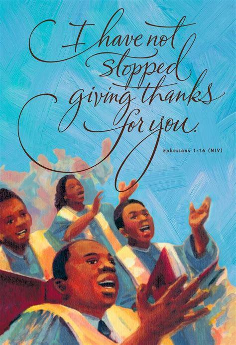 african american choir blessing birthday card greeting cards hallmark