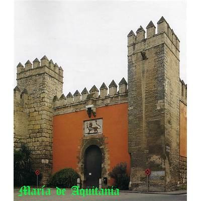 Ambassador's Hall in the Alcázar of Seville Spain