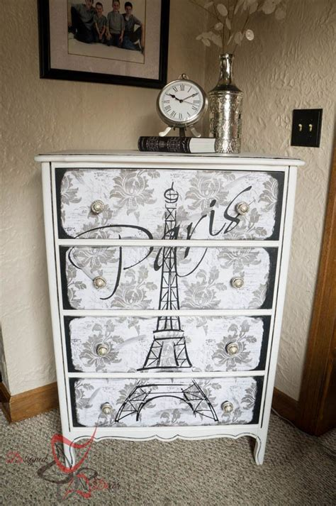 eiffel tower dresser paris room decor paris themed