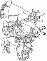 Easter Parade Coloring Pages Brett Jan Egg Eggs Colouring Designs Janbrett Printables Sheets Rabbit Animal Adult Printable Bunny Drawings Activities sketch template