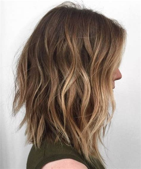 25 best ideas about shoulder length balayage on