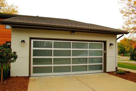 Aluminum + Glass, Modern, Contemporary Garage Doors St