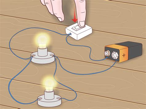 led christmas lights wiring diagram how to make a parallel circuit with pictures wikihow