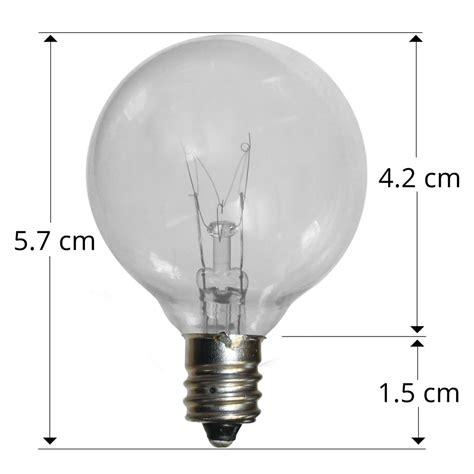 25 socket outdoor patio string light set g40 globe bulbs