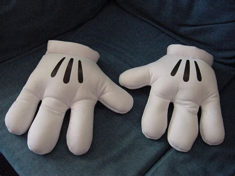 Nwot Mickey/minnie Mouse Plush White Gloves Hands Photo