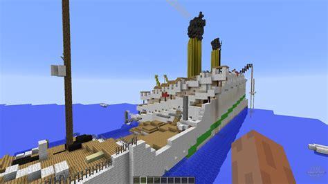 h m h s britannic sinking for minecraft