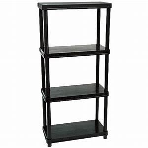 Etagere Sans Vis : etagere metallique rona ~ Premium-room.com Idées de Décoration
