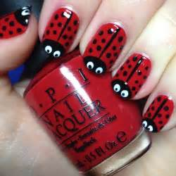 Red flower and crystal art you can create floral on the nails