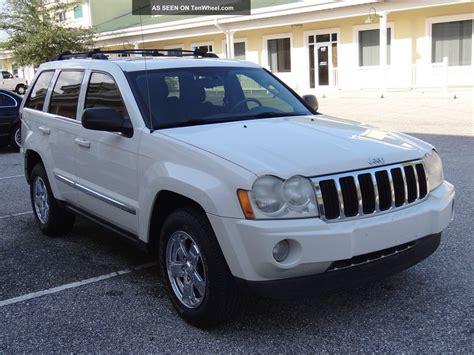 diesel jeep cherokee 2007 jeep grand cherokee limitd 4x4 3 0 diesel florida