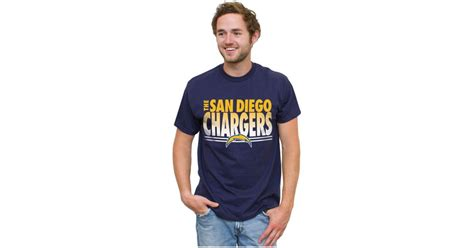 Junk Food Men's San Diego Chargers Fresh Fade T-shirt In