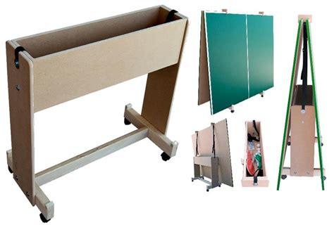 ping pong table surface conversion top cart for ping pong table surface storage