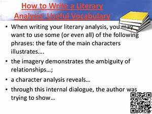 How To Write A Literary Analysis  The Ultimate Guide