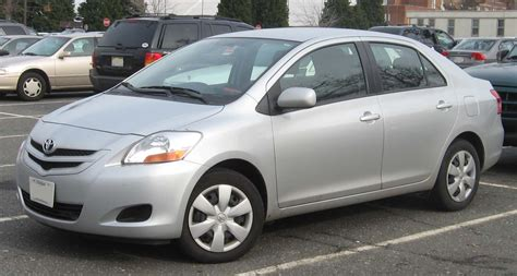 Filetoyota Yaris Sedan Wikimedia Commons