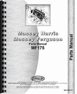 Massey Ferguson 175 Parts Diagram