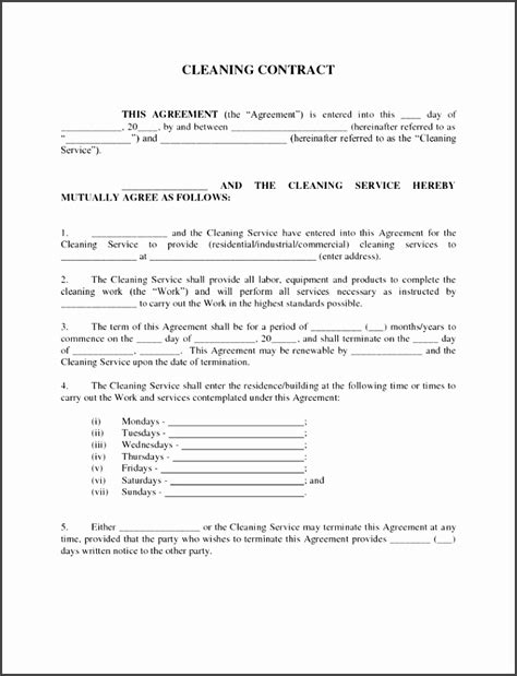 Service Provider Agreement Template by 5 Service Level Agreement Template For Providers
