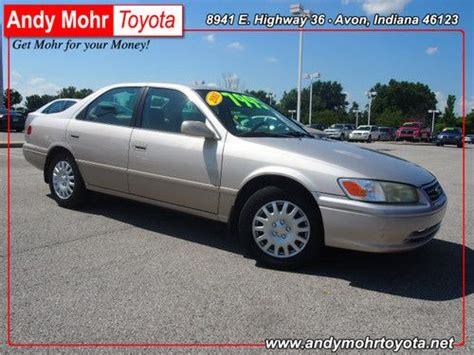 Find Used 2001 Toyota Camry Le In Avon, Indiana, United States